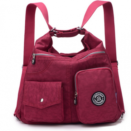 Waterproof Casual Tote in Three Sty..