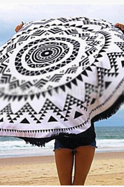The new beach towel shawl YML