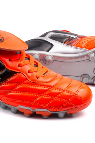 Men's big tongue juvenile football shoes