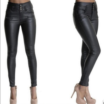 Pu leather trousers for leggings zy